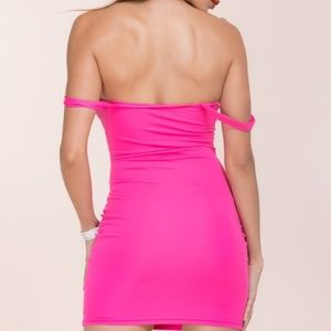 Pinkalicious Dresses - Hot Pink Body Con Dress
